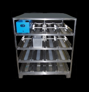 A 304 Stainless Steel Sterilization Rack.